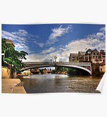 Lendal Bridge York Poster