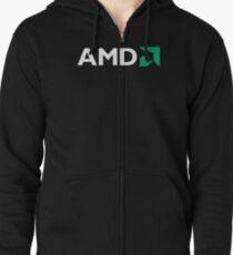 Best Seller Amd Merchandise Zipped Hoodie