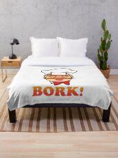 Swedish chef bork Throw Blanket