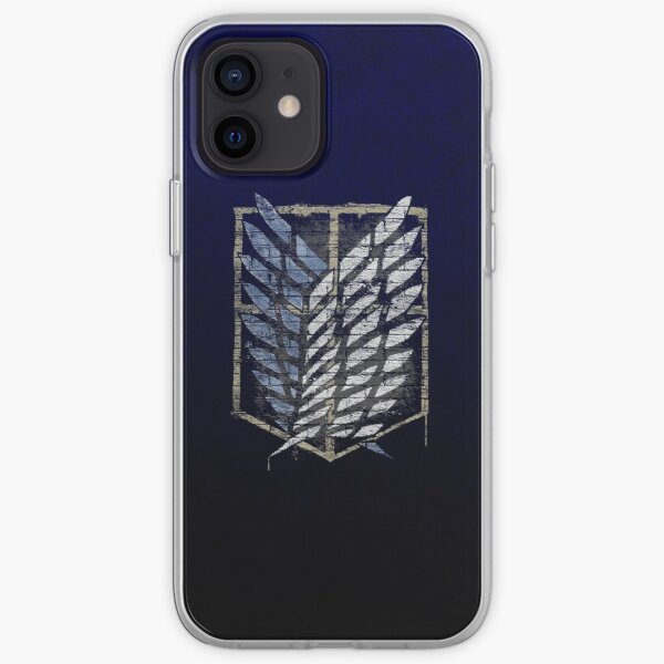 AOT Scout Emblem Graffiti  iPhone Soft Case