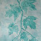 December Turquoise Maples by linmarie