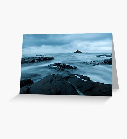 Moody Morn at Aussie Rock Greeting Card