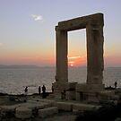 The Portara, Naxos by bubblehex08