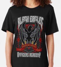 Black Eagles Crest Slim Fit T-Shirt