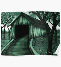 """The Covered Bridge"" Poster"