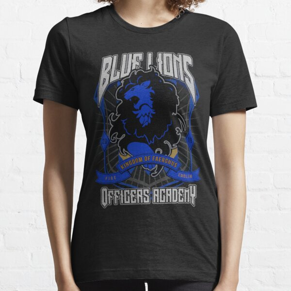 Blue Lions Crest Essential T-Shirt