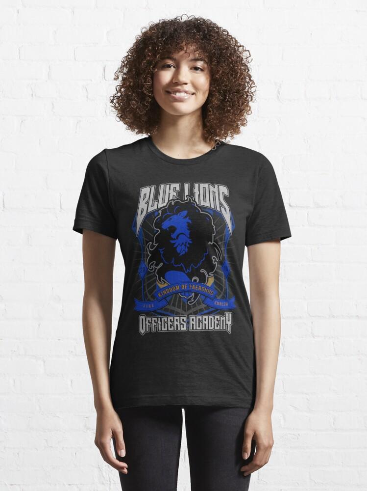 Alternate view of Blue Lions Crest Essential T-Shirt