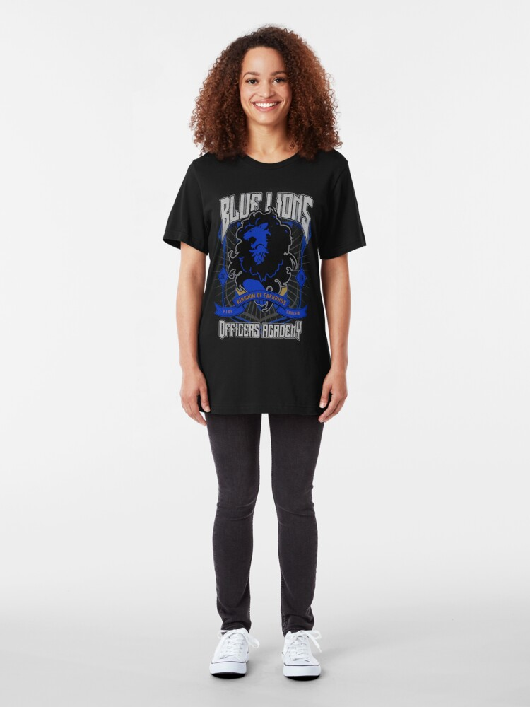 Alternate view of Blue Lions Crest Slim Fit T-Shirt