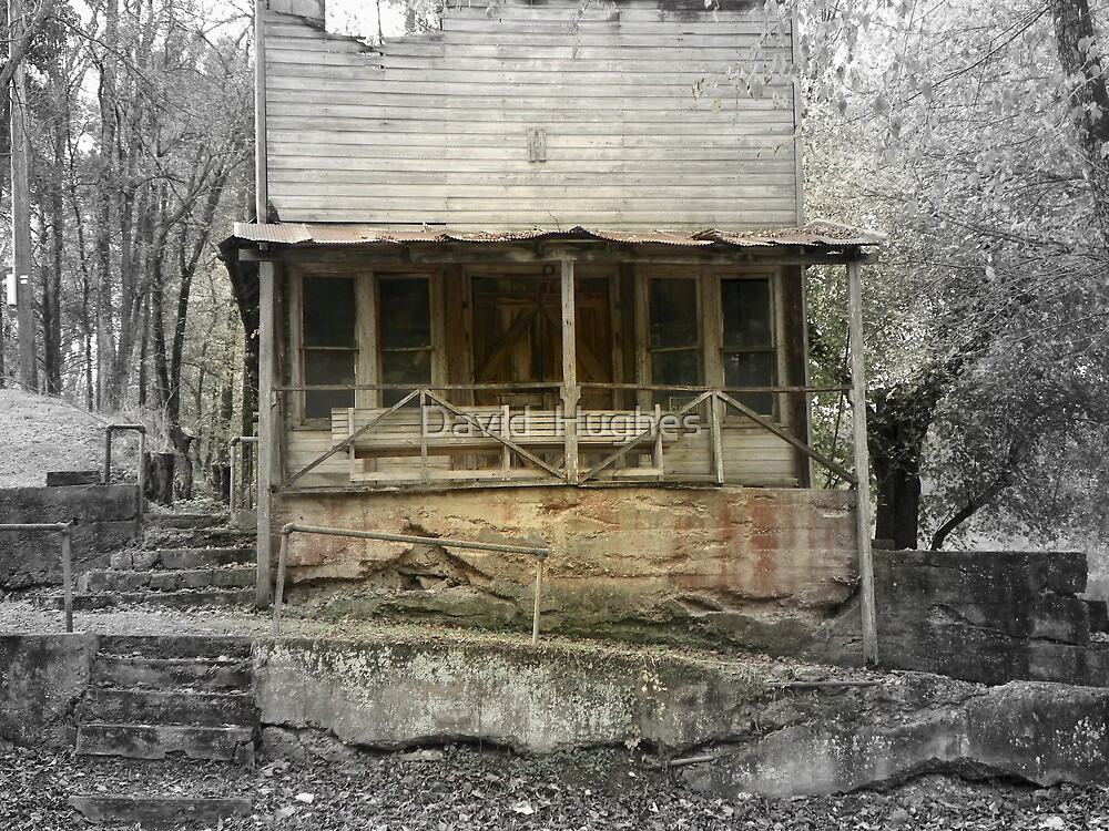A Look Back in Time, The Old War Eagle Mill Store by David  Hughes