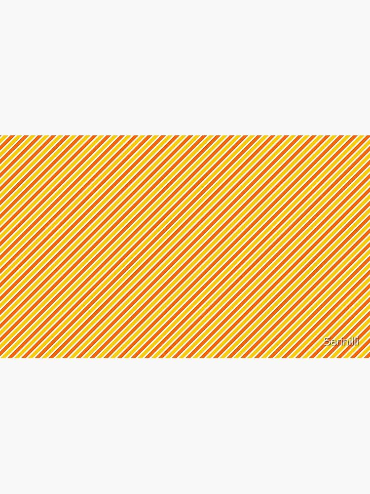 Candy Corn Stripes - Thin by Sarinilli