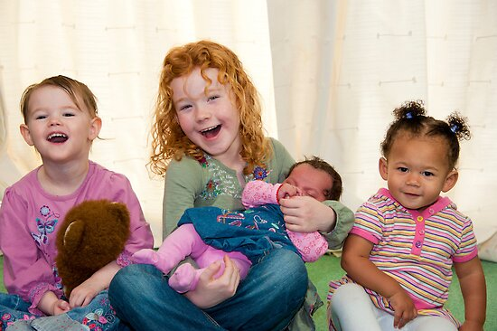 Smiling Children by DonDavisUK