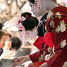 Tea with geisha by Jenny Hall