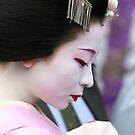 Maiko Mameyuri of Gion by Jenny Hall