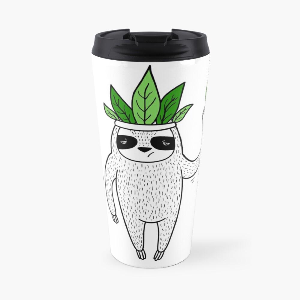 King of Sloth Travel Mug