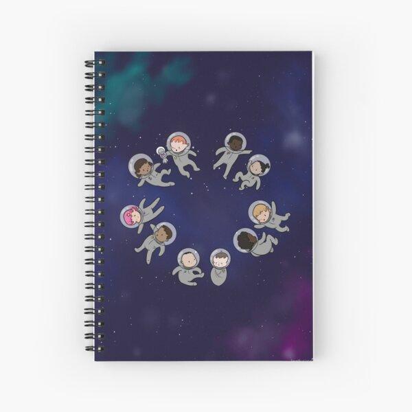 Space Baby - Notebook Spiral Notebook