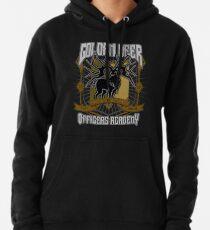 Golden Deer Crest Pullover Hoodie