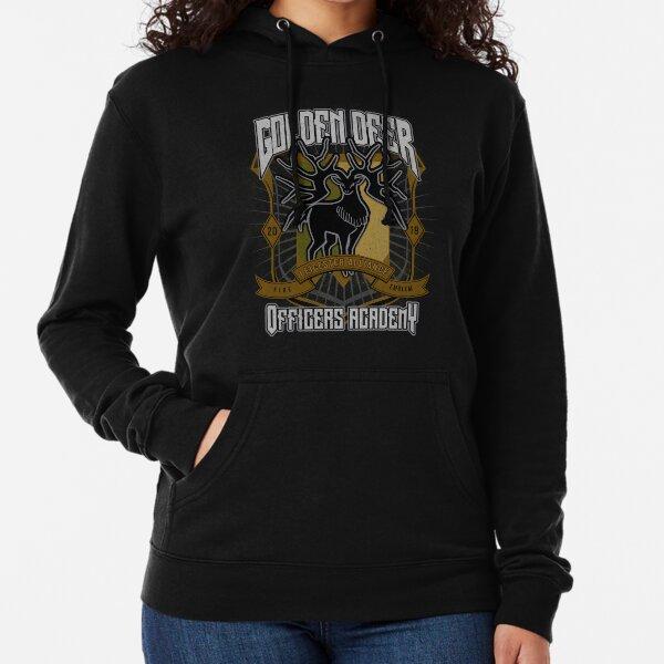 Golden Deer Crest Lightweight Hoodie