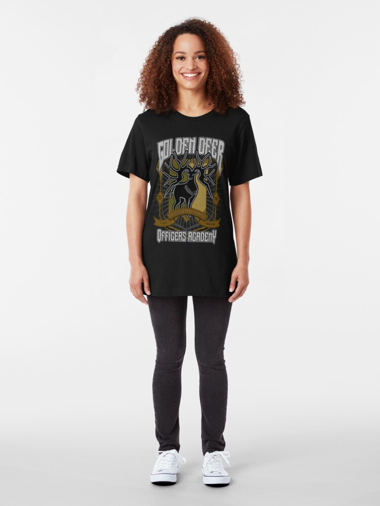 Alternate view of Golden Deer Crest Slim Fit T-Shirt