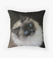 M`Lady Throw Pillow