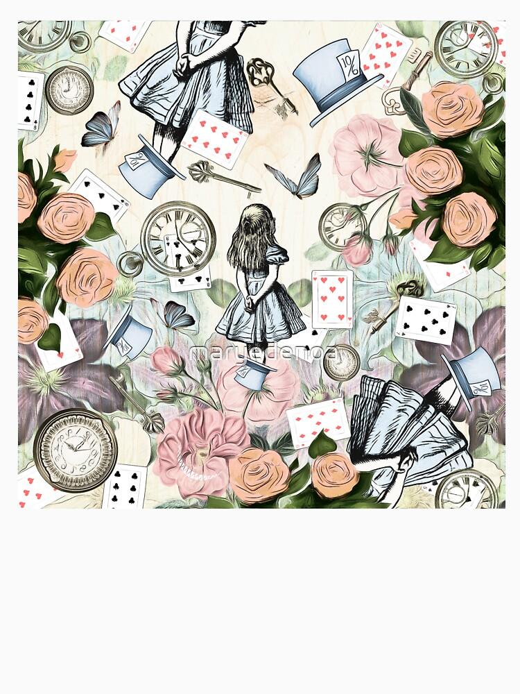 Alicia en el país de las maravillas Collage de maryedenoa