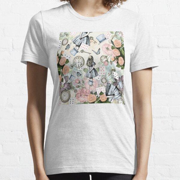 Alice In Wonderland  Collage Essential T-Shirt