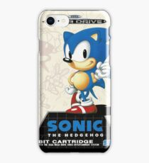 Sonic the Hedgehog Mega Drive Cover iPhone Case/Skin