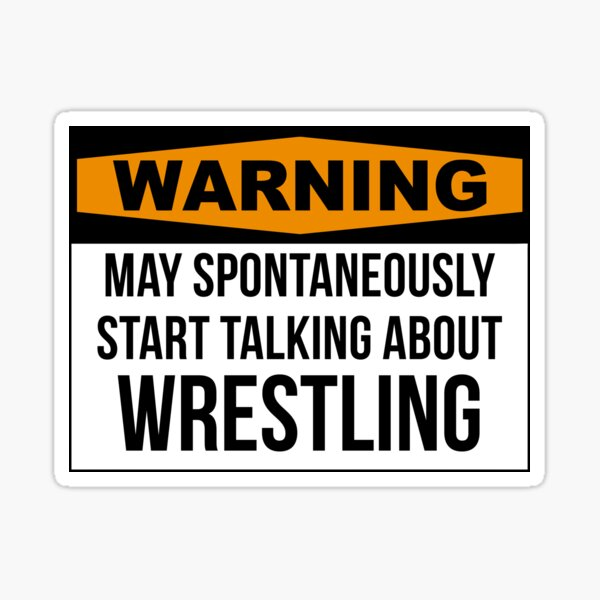 Wrestling Sticker