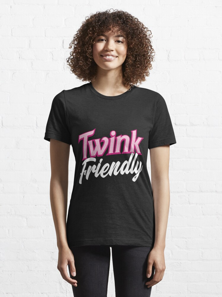 Alternate view of Twink Friendly Essential T-Shirt