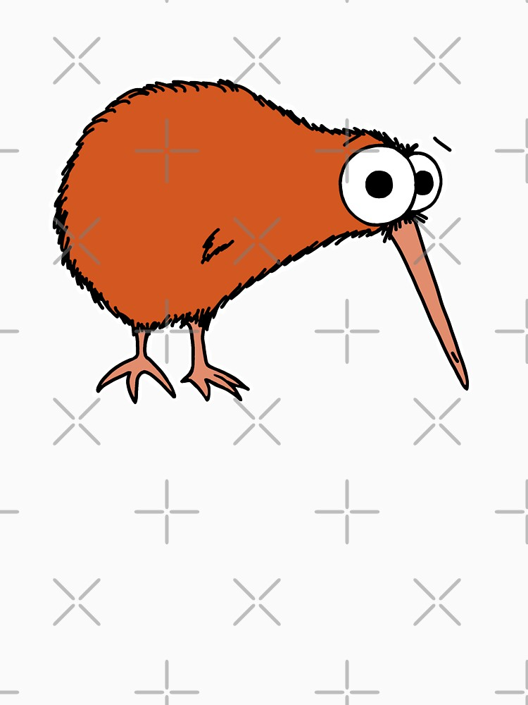 Cutie Kiwi (clock includes Maori numbers) by AdrienneBody
