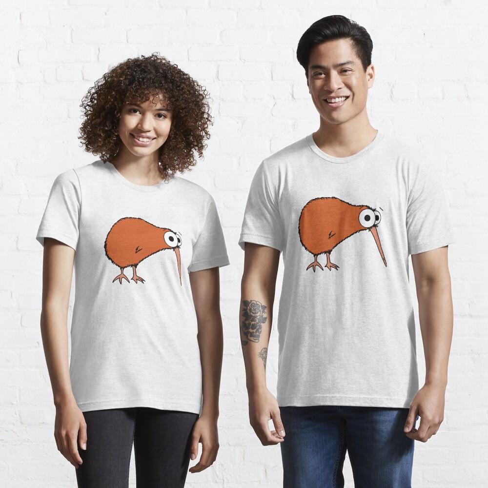Cutie Kiwi (clock includes Maori numbers) Essential T-Shirt