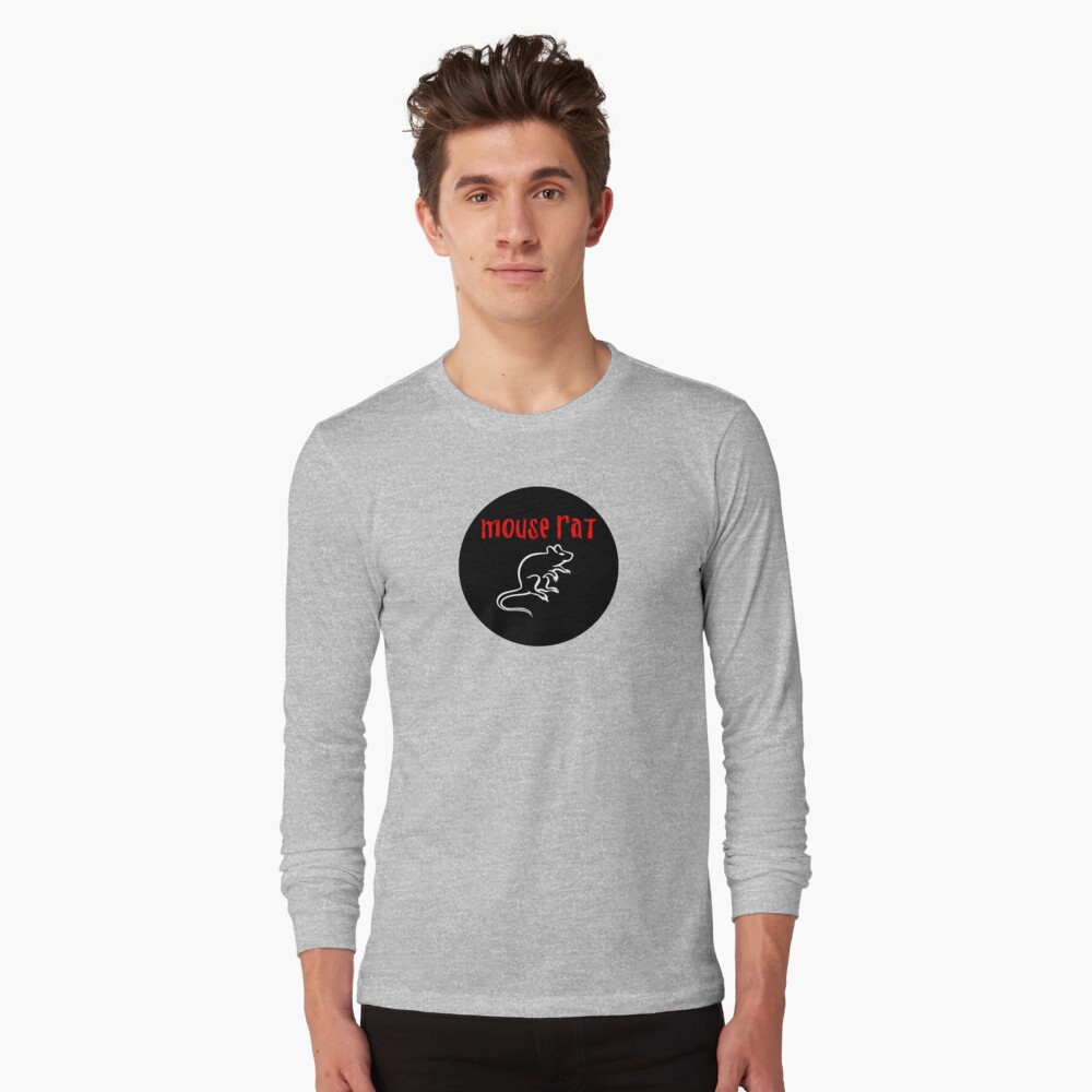 Rata del ratón Camiseta de manga larga