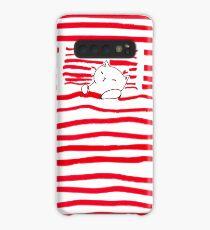 Sleepy Kitty Case/Skin for Samsung Galaxy