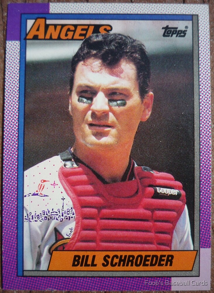 497 - Bill	Schroeder by Foob's Baseball Cards