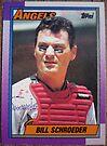 497 - BillSchroeder by Foob's Baseball Cards