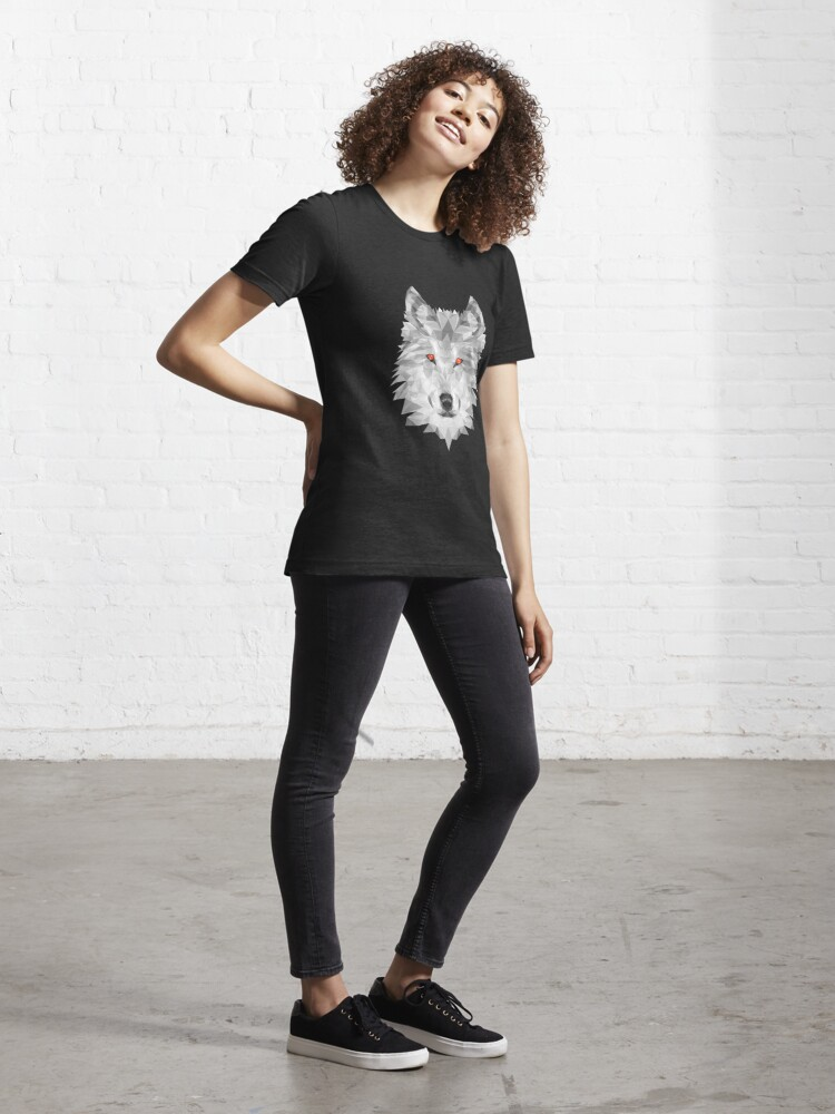 Alternate view of Wolfscale Essential T-Shirt