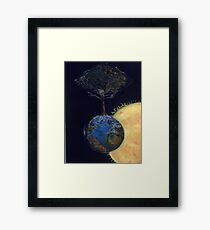 Genesis tree Framed Print