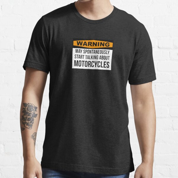 Funny Motorcycle Essential T-Shirt