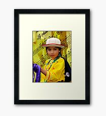 Cuenca Kids 1218 Framed Print