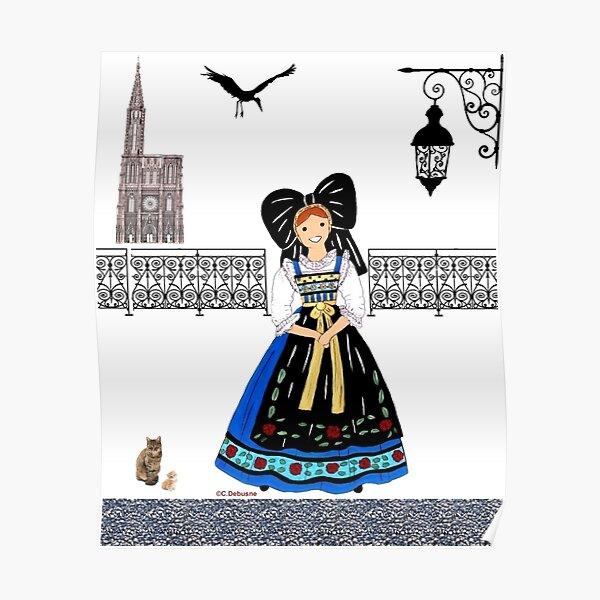 ALSACE, France Poster