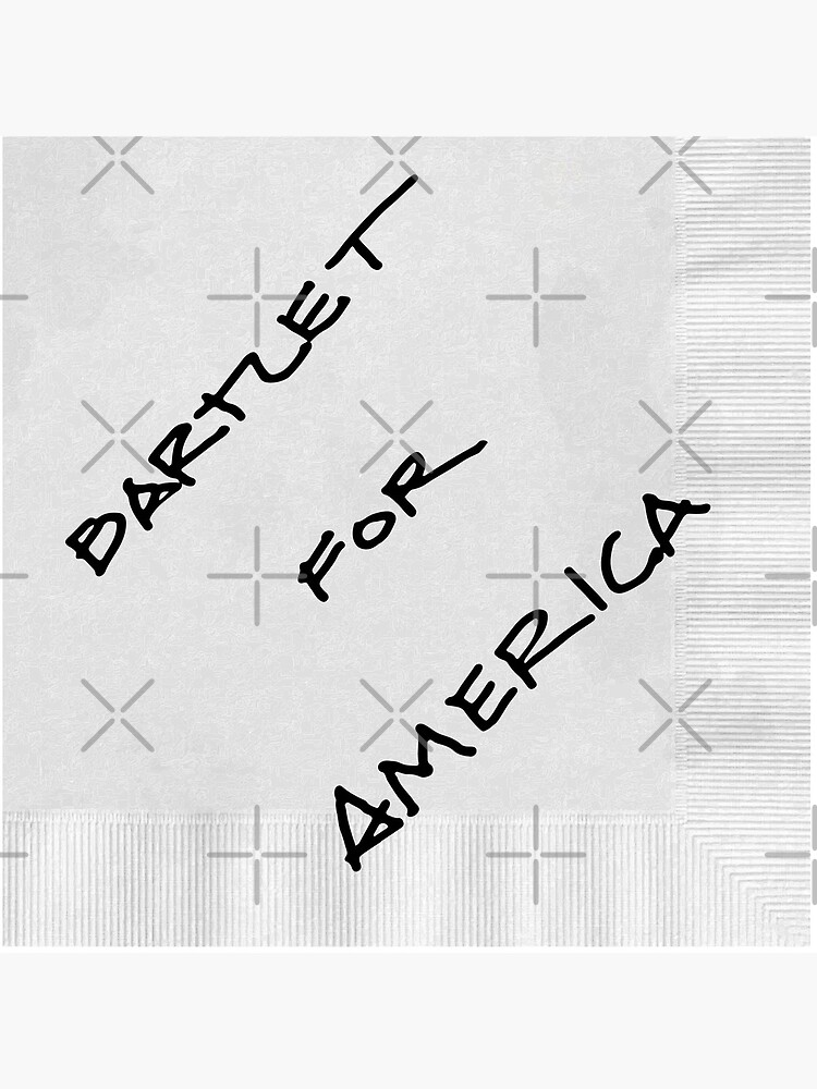 Bartlet For America by tomhillmeyer