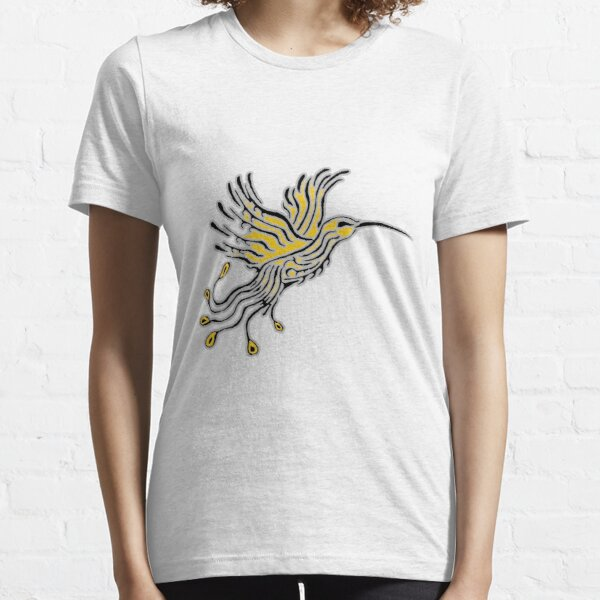 Colibri Tribal Gray-Orpin T-shirt essentiel