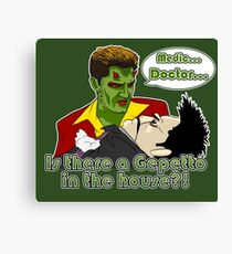 Angel - Is There a Gepetto in the House?! (Buffy) Canvas Print