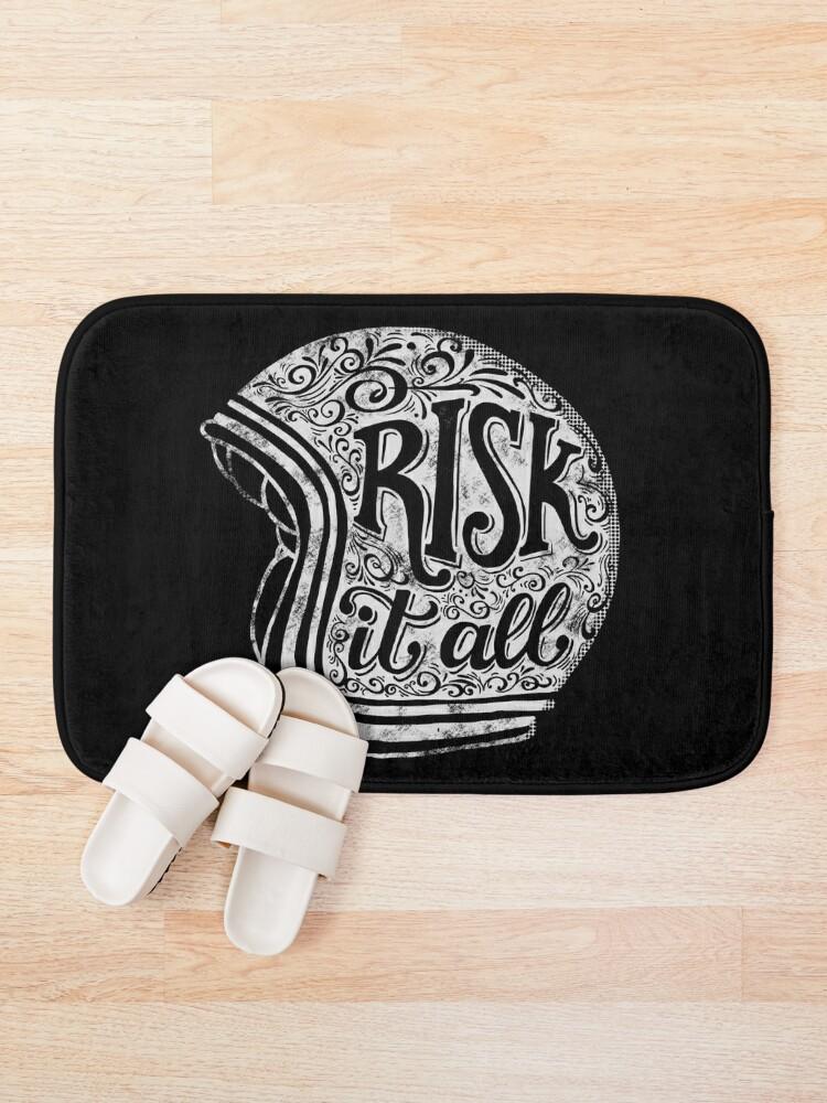 Alternate view of Risk It All Bath Mat