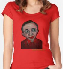 WOW. BOB. WOW. FIRE WALK WITH ME - from 'The Peaks' range Women's Fitted Scoop T-Shirt