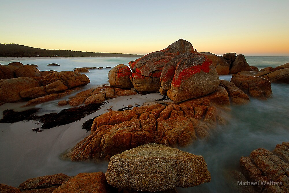 Bay of Fires dawn by Michael Walters