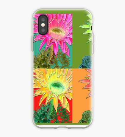 flower pop iPhone Case