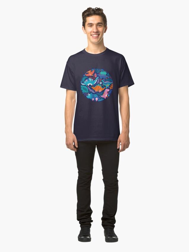 Alternate view of Dino team 1 Classic T-Shirt