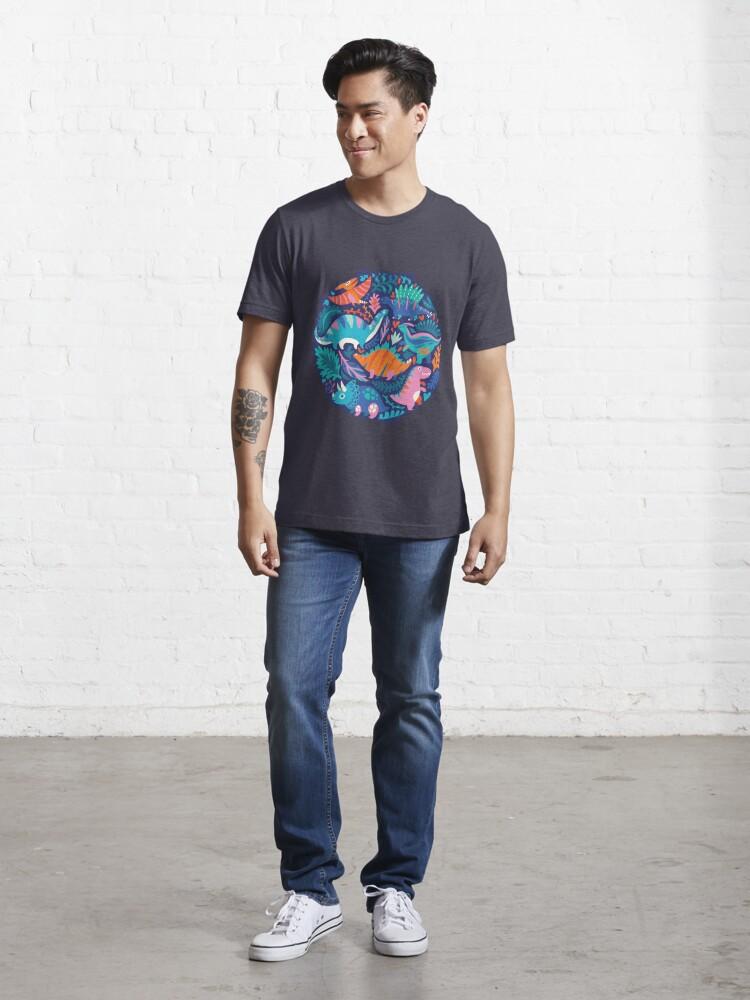 Alternate view of Dino team 1 Essential T-Shirt