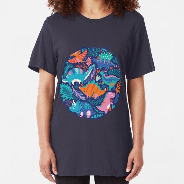 Dino team 1 Slim Fit T-Shirt