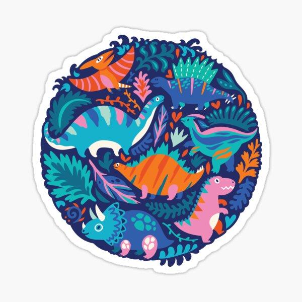 Dino team 1 Sticker